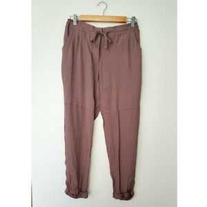 Mod Ref Cropped Brown Casual Pants